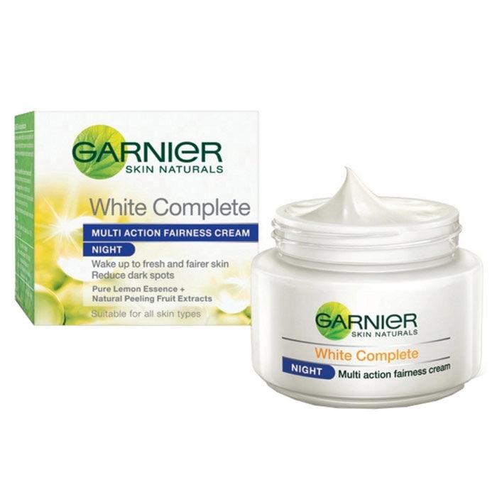Buy Garnier Skin Naturals White Complete Multi Action Fairness Night Cream (40 g)-Purplle
