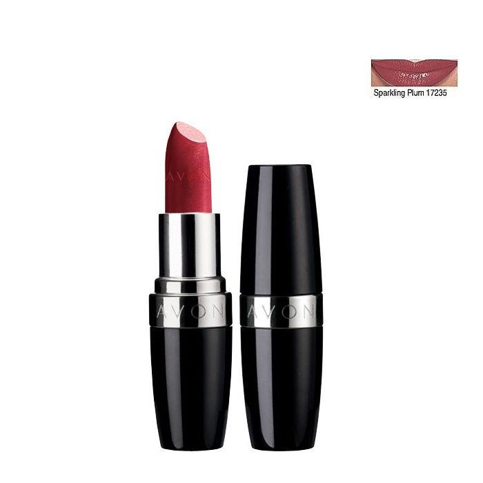 Buy Avon Ultra Color Rich Lipstick Sequins Finish Sparkling Plum 17235-Purplle