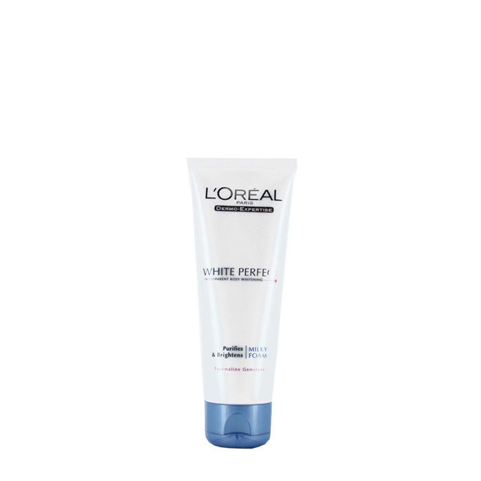 Buy L'Oreal Paris White Perfect Purifying and Brightening Milky Foam (50 ml)-Purplle