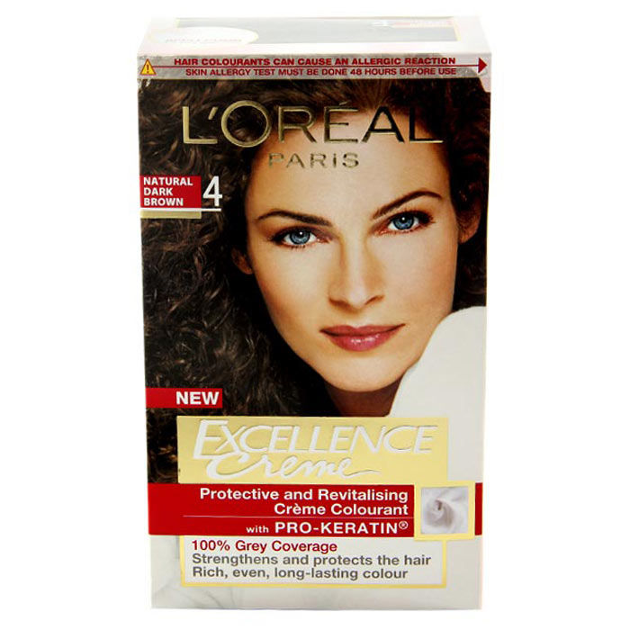 Buy L'Oreal Paris Excellence Creme Natural Dark Brown 4-Purplle