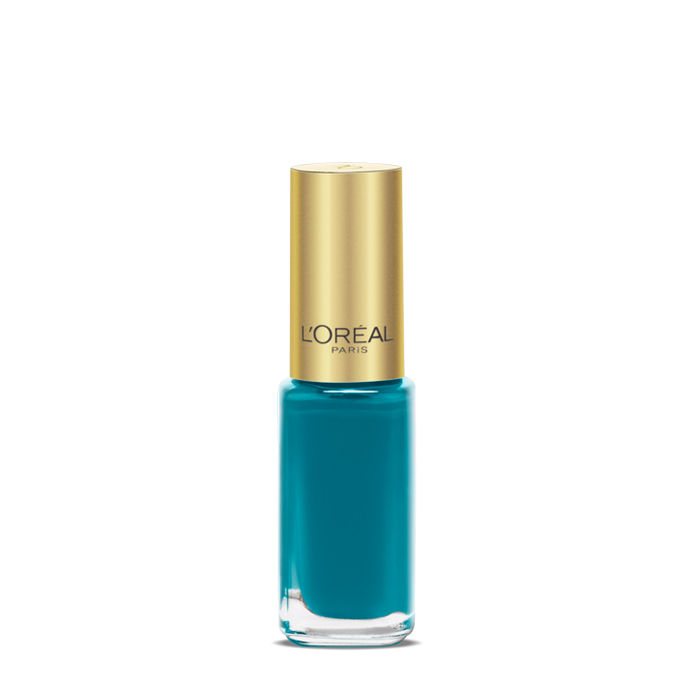 Buy L'Oreal Paris Color Riche Le Vernis Blue Reef Nail Polish 613-Purplle