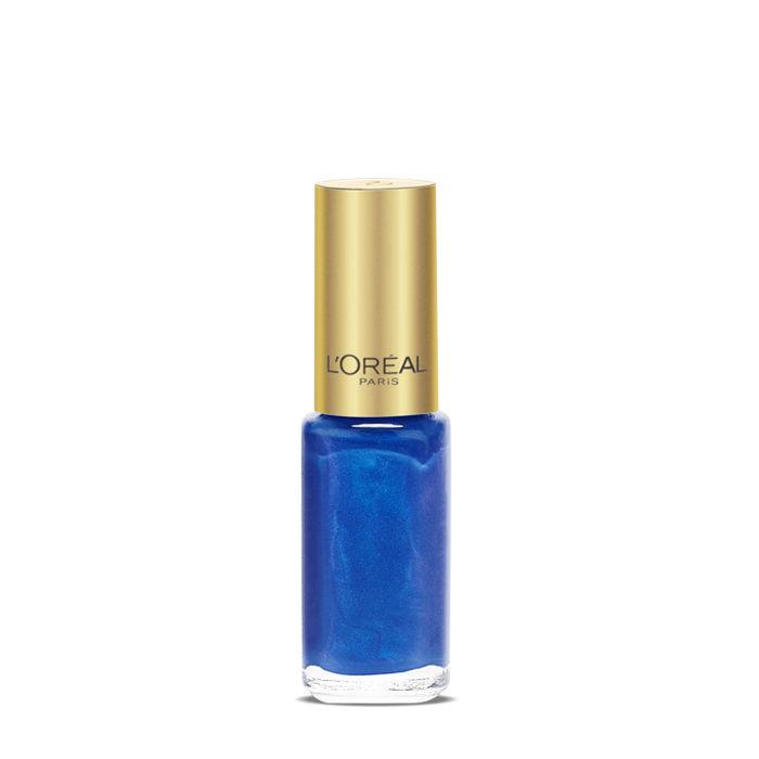 Buy L'Oreal Paris Color Riche Le Vernis Rebel Blue Nail Polish 610-Purplle