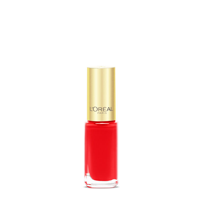 Buy L'Oreal Paris Color Riche Le Vernis Exquisite Scarlet Nail Polish 408-Purplle