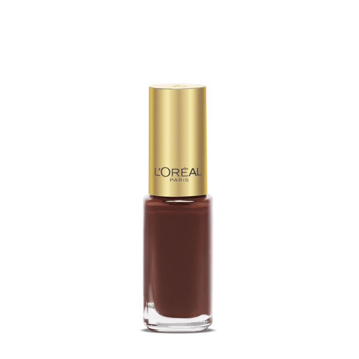 Buy L'Oreal Paris Color Riche Le Vernis Lady Chocolate Nail Polish 110-Purplle