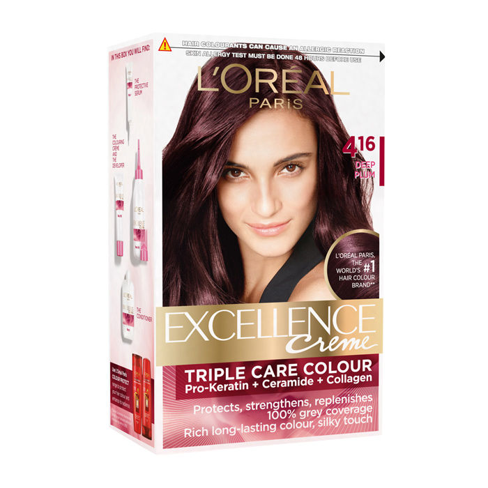 Buy Loreal Paris Excellence Creme Deep Plum 416 150 Ml Find