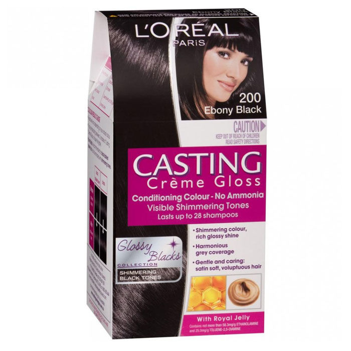 Buy Loreal Paris Casting Creme Gloss Ebony Black 200 875 G 72