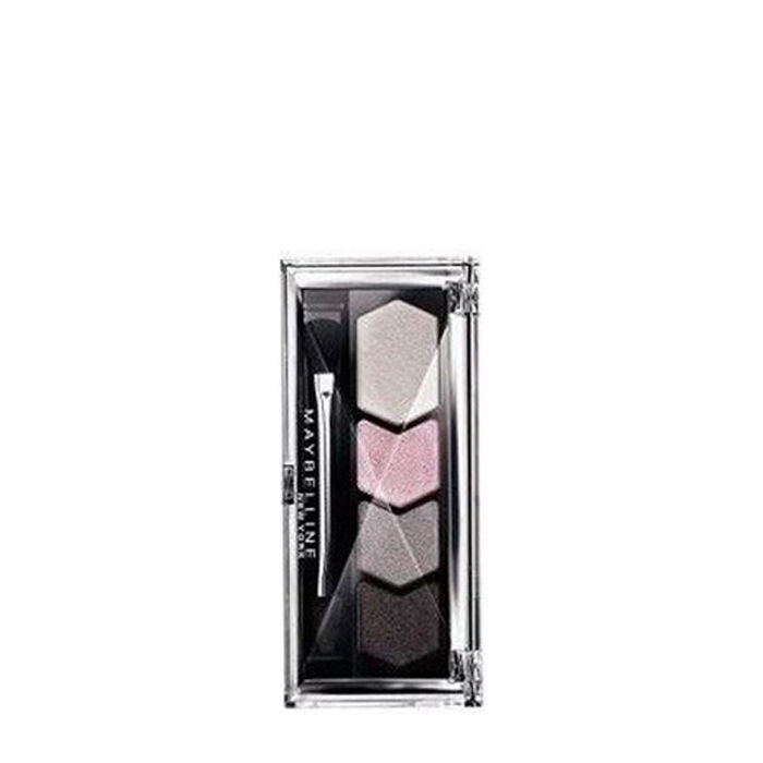 Buy Maybelline Diamond Glow Quad Eye Shadow Gray Pink (Pack of 2)-Purplle