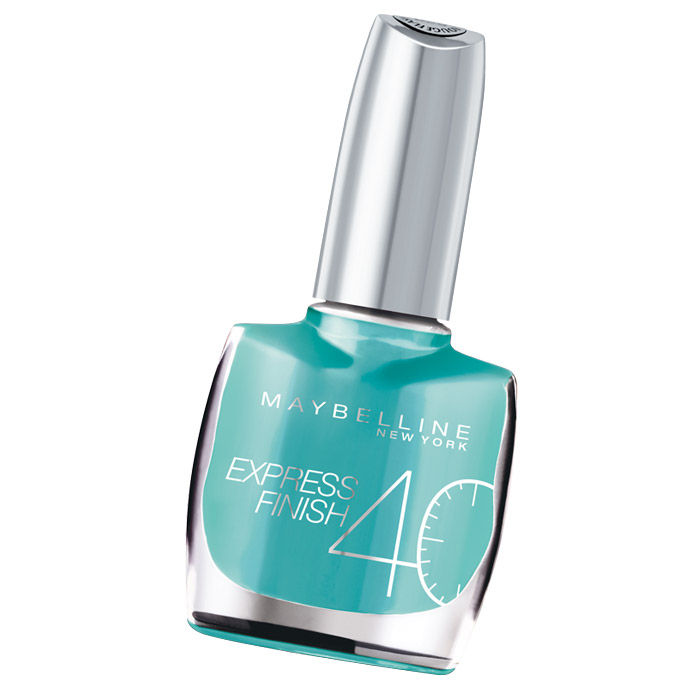 Buy Maybelline Express Finish Turquoise Lagoon Nail Polish 862 (10 ml)-Purplle