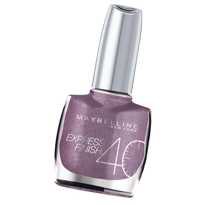 Buy Maybelline Express Finish Violet Chromy Nail Polish 240 (10 ml)-Purplle