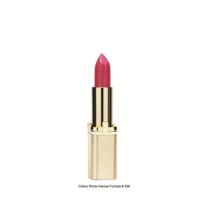 Buy L'Oreal Paris Color Riche Accord Intense Lipstick Fuschia 288-Purplle