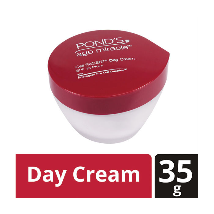 Buy Ponds Age Miracle Cell Regen Day Cream SPF-15 (35 g)-Purplle