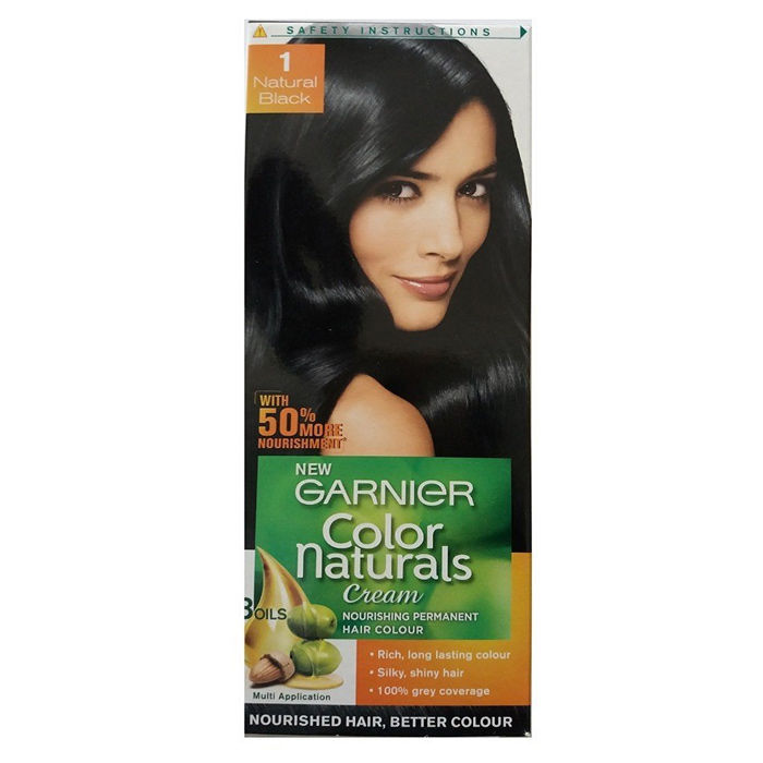 Garnier Natural Black Hair Color Price