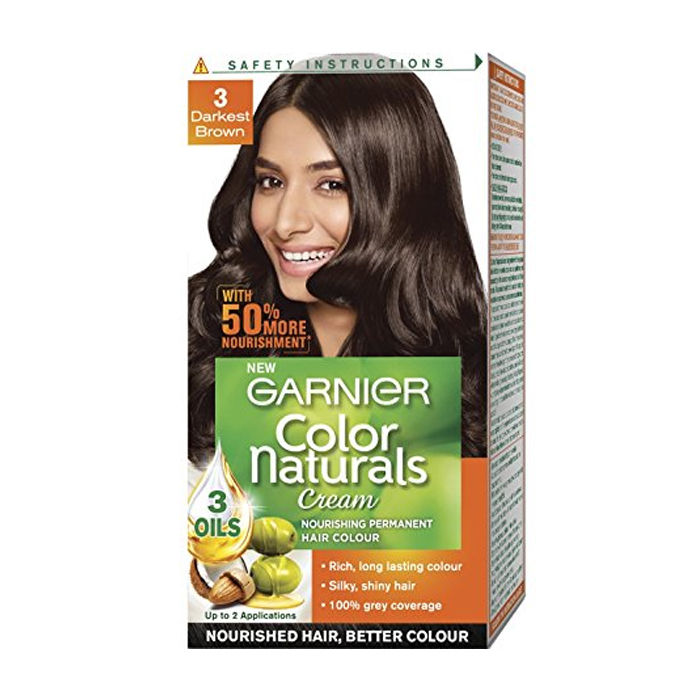Buy Garnier Color Naturals Nourishing Permanent Hair Colour Cream ...