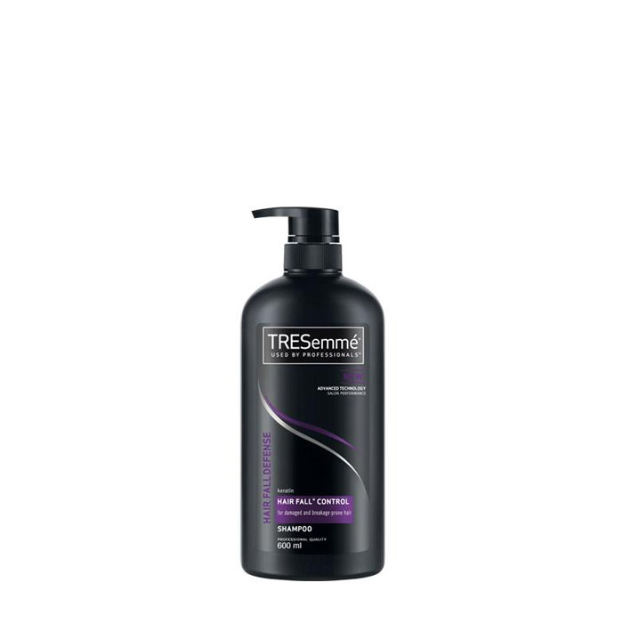 Buy TREsemme Hair Fall Defence Shampoo (600 ml) + Hair Straightener Free-Purplle