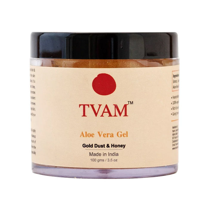 Buy Tvam Gold Dust And Honey Aloe Vera Gel 100 G-Purplle