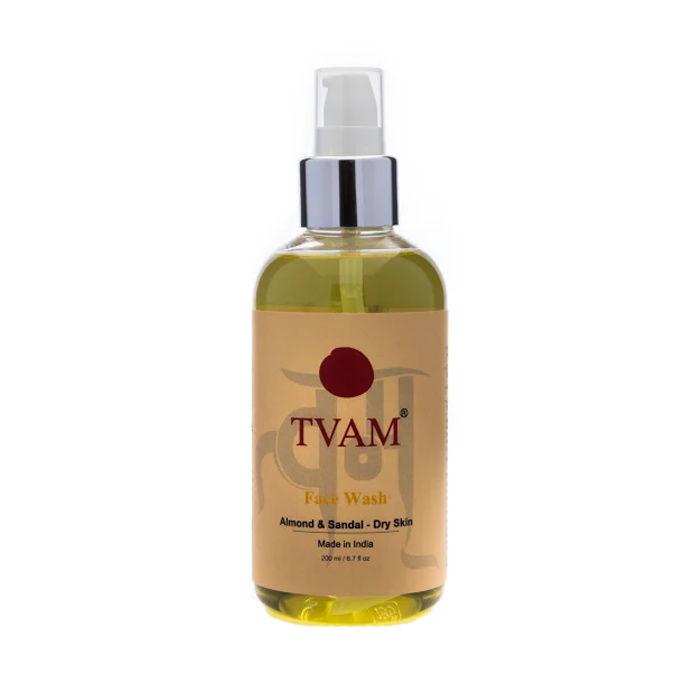 Buy TVAM Almond & Sandal Face Wash For Dry Skin (200 ml)-Purplle