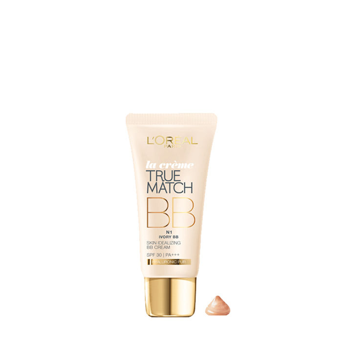 Buy L'Oreal Paris True Match BB Cream Ivory N1 (30 ml)-Purplle