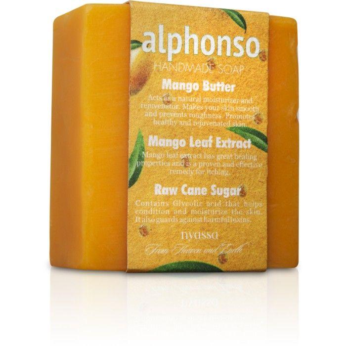 Buy Nyassa Alphonso Soap (150 g)-Purplle