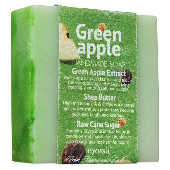 Buy Nyassa Green Apple Soap (150 g)-Purplle