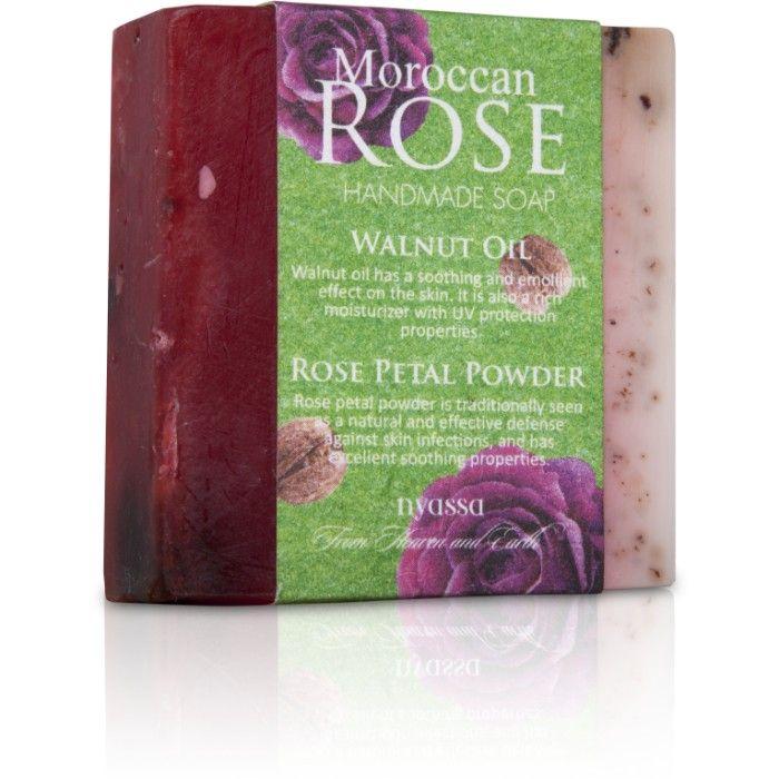 Buy Nyassa Morocan Rose Soap (150 g)-Purplle