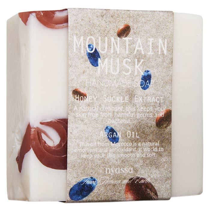 Buy Nyassa Mountain Musk Soap (150 g)-Purplle