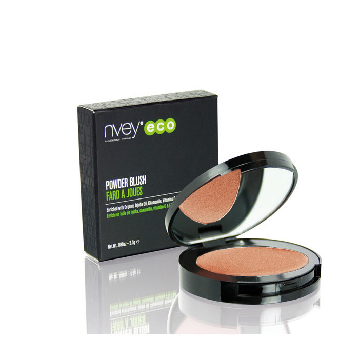 Buy Nvey Eco Blushing Golden Organic Blush Powder-Purplle