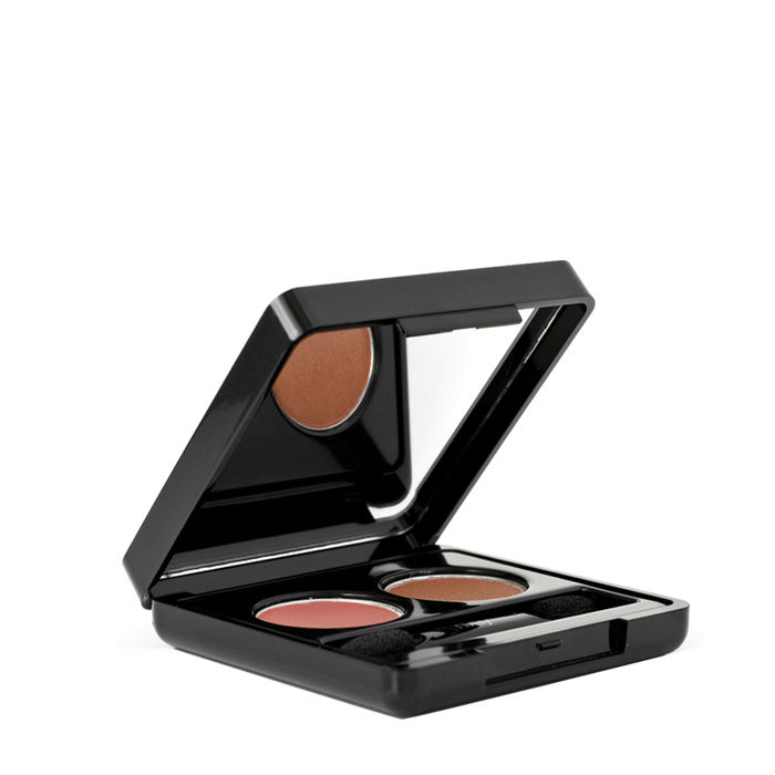 Buy Nvey Eco Earthly Desire Organic Eye Shadow Duo-Purplle