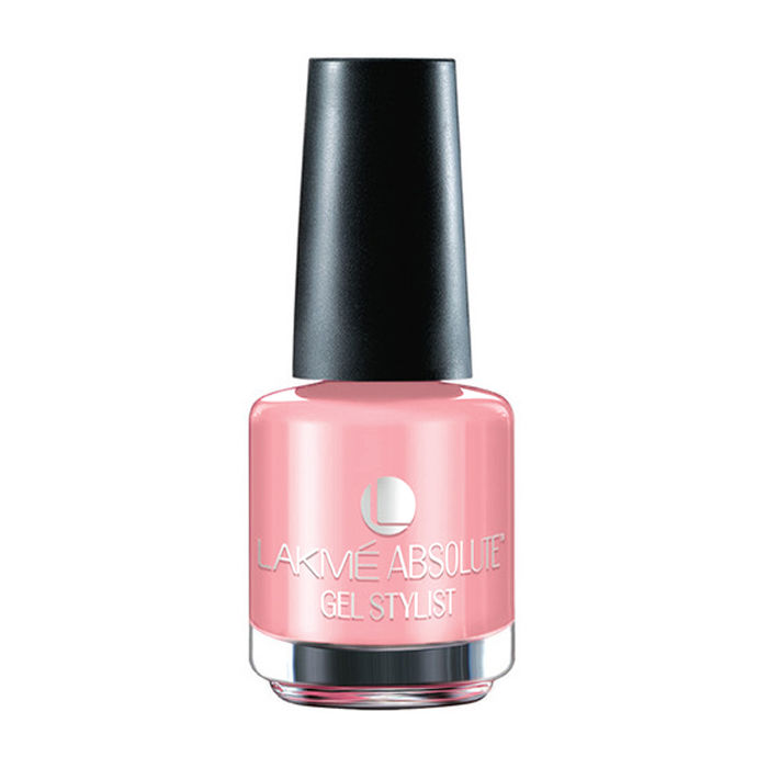 Buy Lakme Absolute Gel Stylist Nail Colour Pink Champagne (15 ml)-Purplle
