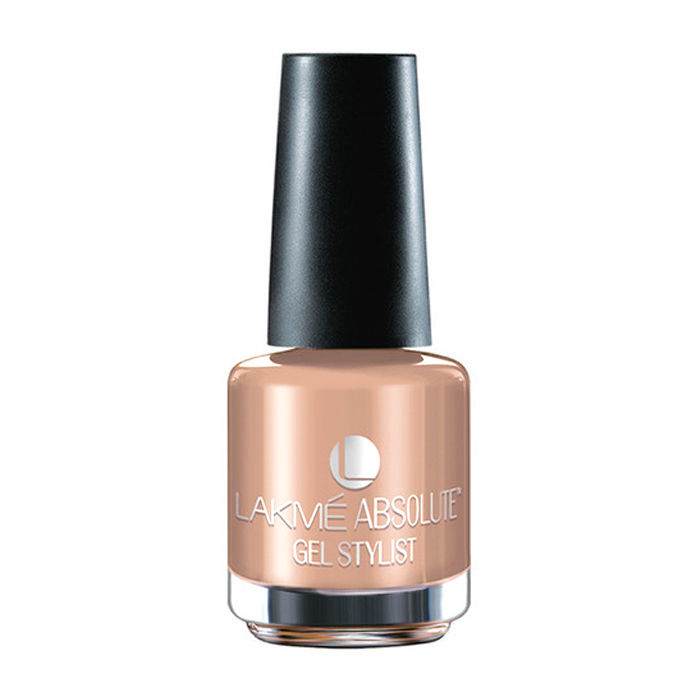Buy Lakme Absolute Gel Stylist Nail Colour Carmel Melt (15 ml)-Purplle