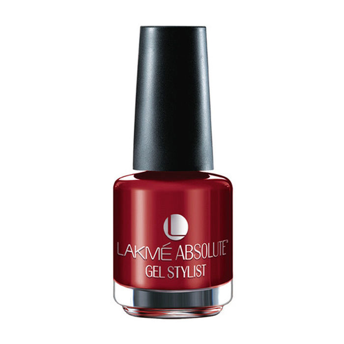 Buy Lakme Absolute Gel Stylist Nail Colour Scarlet Red (15 ml)-Purplle