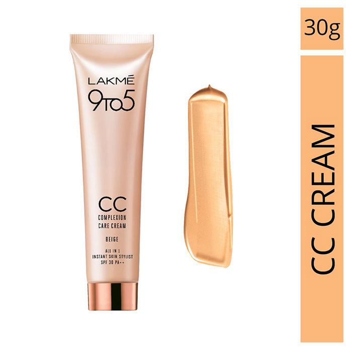 Buy Lakme CC Face Cream Beige (30 g) (Complexion Care)-Purplle