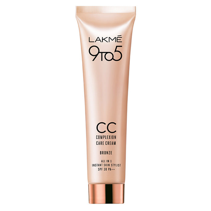 Buy Lakme 9 To 5 Complexion Care Face CC Cream With SPF 30 PA++ - Bronze (30 g)-Purplle