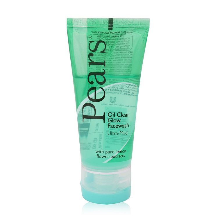 Buy Pears Oil Clear Glow Ultra Mild Face Wash (100 ml)-Purplle