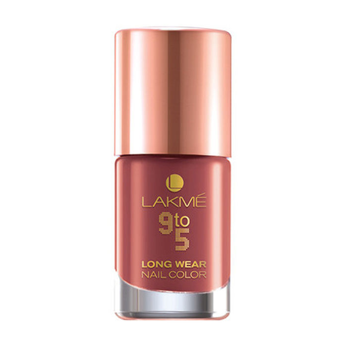 Buy Lakme 9 to 5 Long Wear Nail Color Rust Project (9 ml)-Purplle