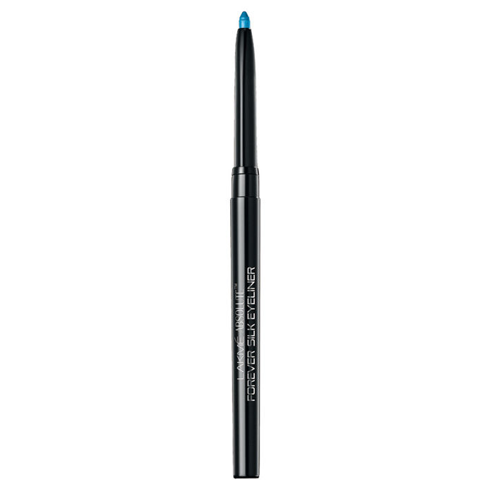 Buy Lakme Absolute Forever Silk Eyeliner Blue Cosmos (0.28 g)-Purplle