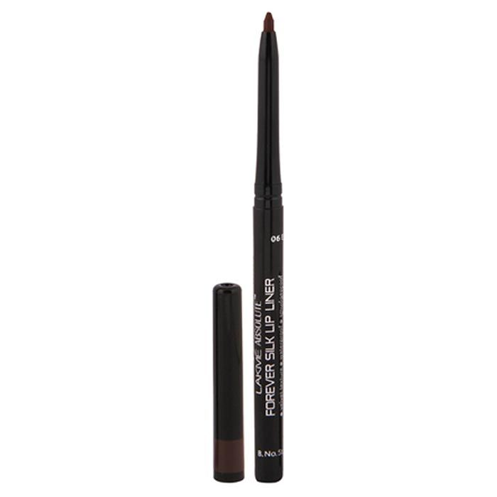 Buy Lakme Absolute Forever Silk Lip Liner Espresso (0.35 g)-Purplle