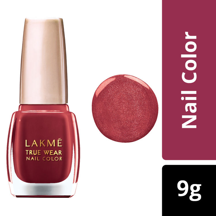 Buy Lakme True Wear Nail Color - Shade D415 (9 ml)-Purplle