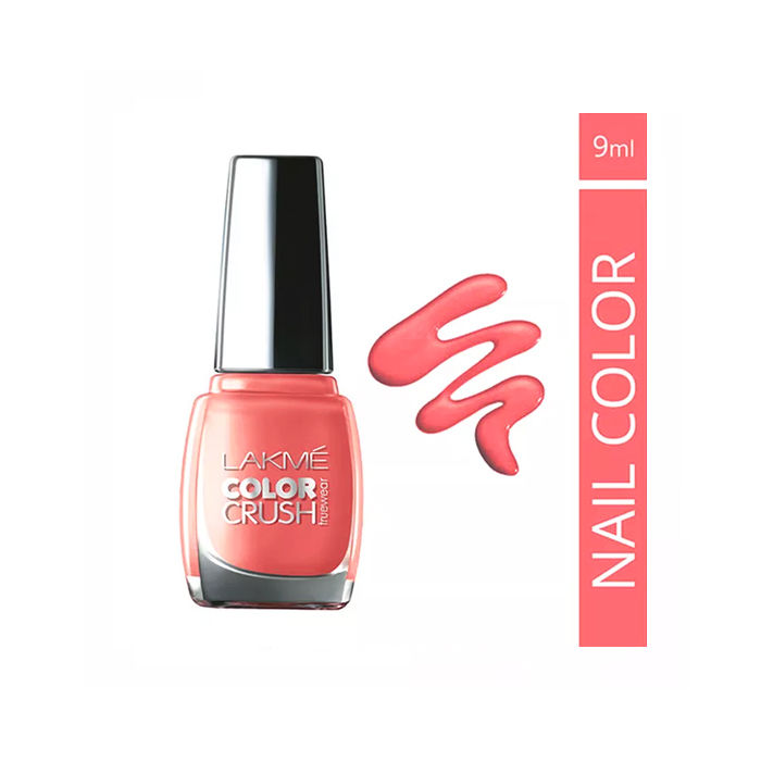 Buy Lakme True Wear Color Crush Nail Color Pinks 19 (9 ml)-Purplle