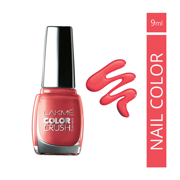 Buy Lakme True Wear Color Crush Nail Color Pinks 23 (9 ml)-Purplle