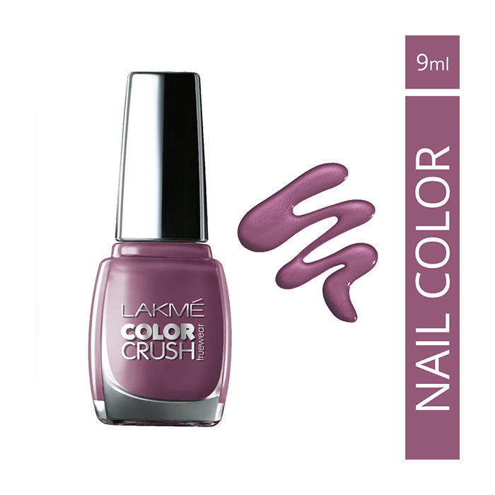 Buy Lakme True Wear Color Crush Nail Color Shade 40 (9 ml)-Purplle