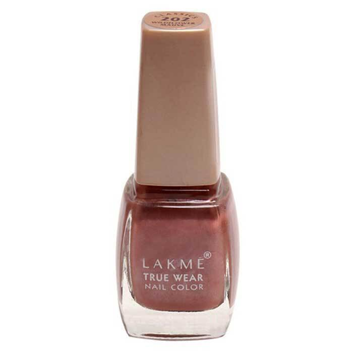 Buy Lakme True Wear Nail Color - Classics Wildflower Mauve 202 (9 ml)-Purplle