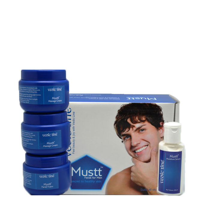 Buy Vedic Line Mustt Facial Kit for Men-Purplle