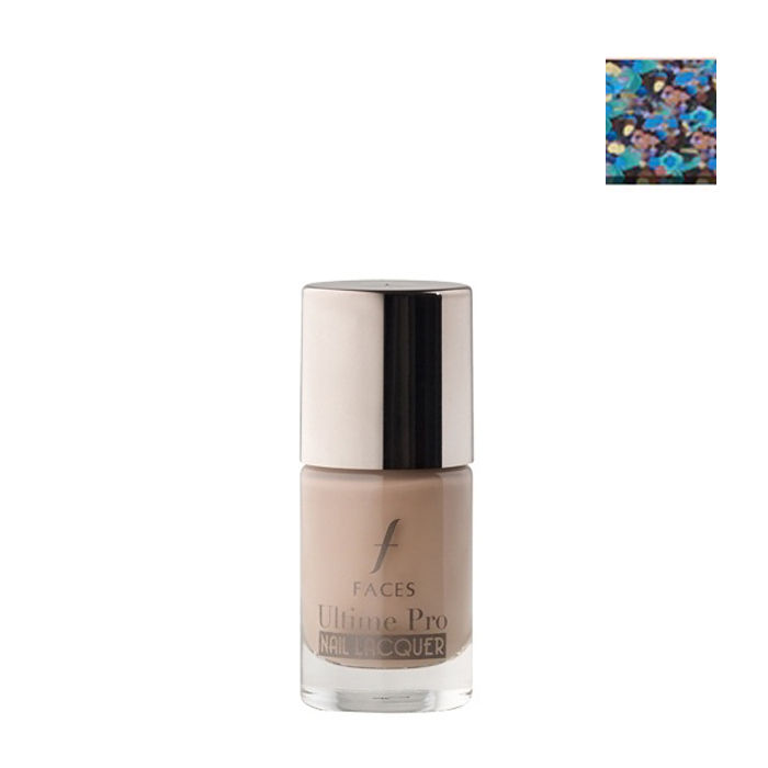 Buy Faces Canada UltimePro Nail Lacquer Glitter Parade 15-Purplle