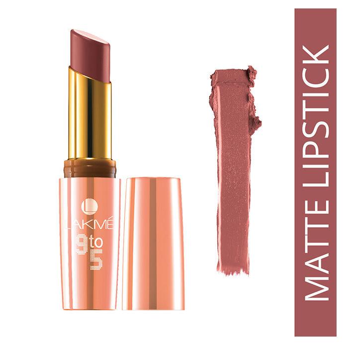 Buy Lakme 9 to 5 Matte Lipstick MB2 Oak Table (3.6 ml)-Purplle