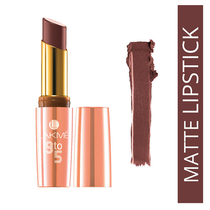 Buy Lakme 9 to 5 Matte Lipstick Brownie Point MB3 (3.6 g)-Purplle
