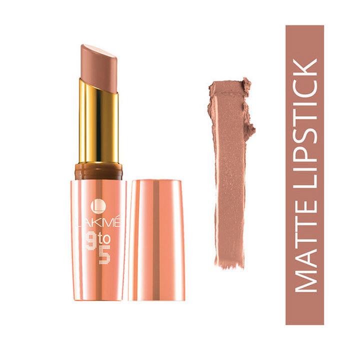 Buy Lakme 9 to 5 Matte Lipstick Toffee Nexus MB4 (3.6 ml)-Purplle