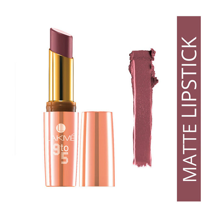 Buy Lakme 9 to 5 Matte Lipstick Wine Play MM2 (3.6 g)-Purplle