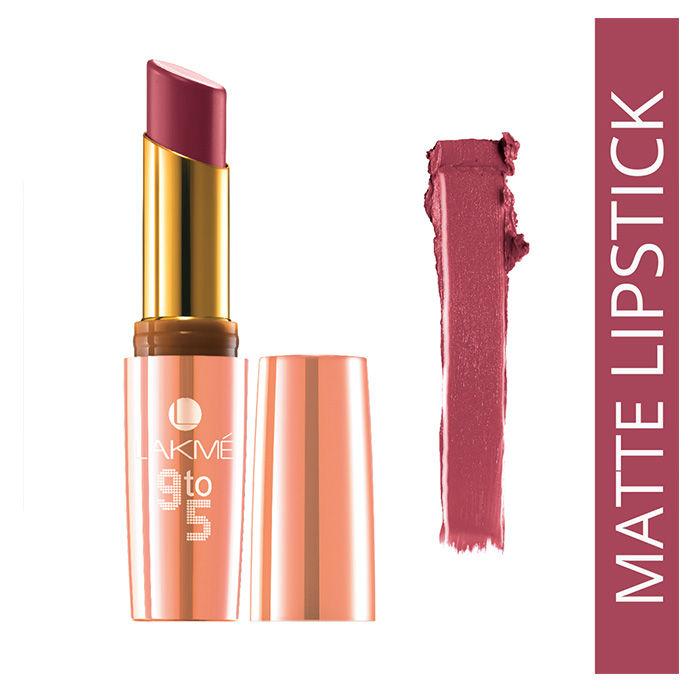 Buy Lakme 9 to 5 Matte Lipstick Pink Colar MP 2 (3.6 g)-Purplle