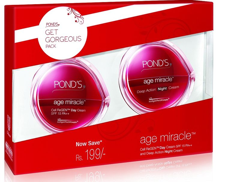 Ponds Age Miracle (Combo Pack Day + Night Cream) Tuel Rehab Acne Serum 1oz
