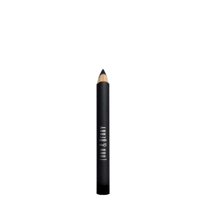 Buy Lord & Berry Flat Eyeliner & Eyebrow Pencil Dark Black-Purplle